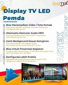 TV LED PEMDA MASTER TEKNOLOGI