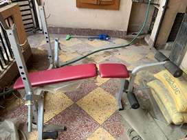 Foldable Gym Bench 4 in 1