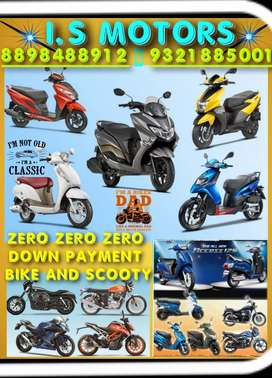 000 down payment aprilla SR 1,2,3, years loan