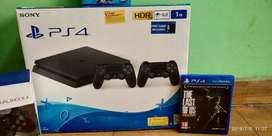 Sony PS4 Slim 1TB with 4 Latest Games with box