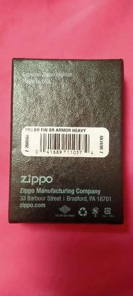 Zippo brushed brass Armor