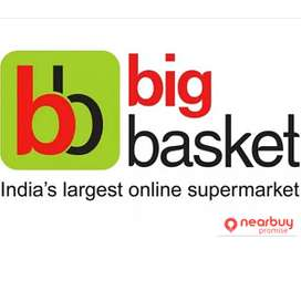 Bigbasket process Hiring for Field Executives.
