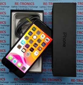 iPhone 7 128GB Storage A1 Condition With Box charger Jet Black