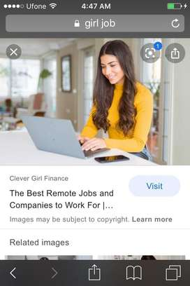 Online job for femail