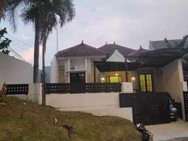 Rumah mewah villa puncak tidar VPT siap huni