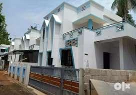 3 bhk 1100 sqft 3.5 cent new build house at chengamanad near chumkam