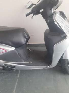 A well maintained scooter timely serviced and insured