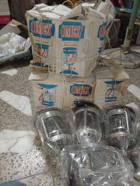 OMEX gas cylinder lamp.