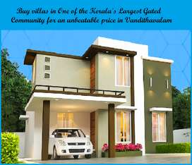 Low budget Highly Satisfied Villa for sale in Vandithavalam