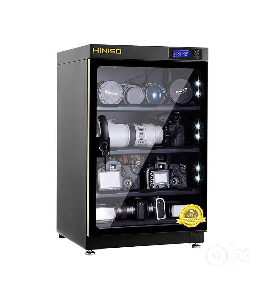HINISO AD 80L 80 litres Camera Dry Cabinet with Electronic Display (B