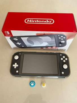 Nintendo Switch Lite Grey Full set Mulus