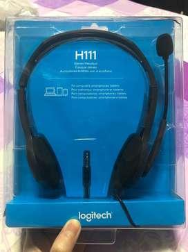 Logitech H111 New Headset Headphone Earphone
