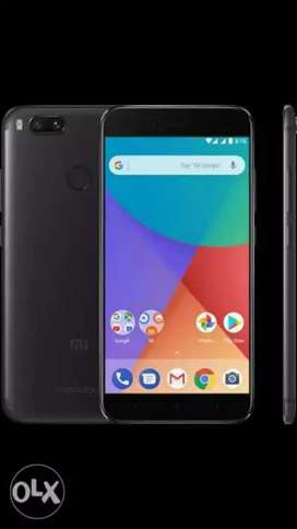 Mi A1 in really good condition with Bill n box - warrenty
