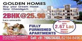 2BHK Full Furnished in Mohali