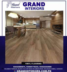Buy online vinyl flooring and wood flooring by Grand interiors