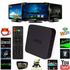 MXQ Android Smart TV Box - 4K Quad Core - 1G+8G  |COD AVAILABLE|