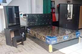 Promo SPECIAL satu set tempat tidur+meja rias+lemari harga lebih hemat