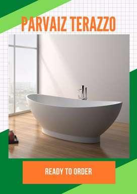 Bathtub terazzo TERBARU cantik Bali P150cm