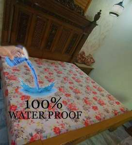 waterproof printed mattress cover - delivery free