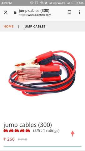 jump cables and more automotive accessories