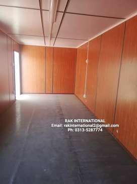 40ft porta cabin container house site office guard room prefab hall..