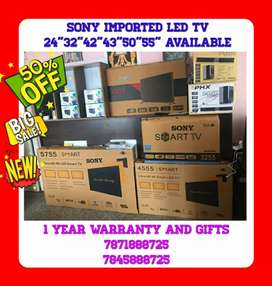 """SONY LED TV 24""""-55"""" AVAILABLE 1 YEAR WARRANTY GIFTS WHOLESALE PRICE"""