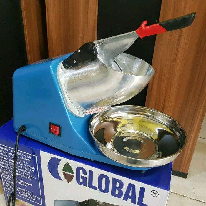 Ice crusher global mesin serut es ice crusher singgel blad 0