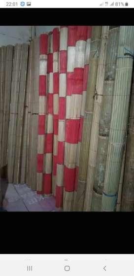 """Macam""""tirai bambu,rotan dan kayu"""