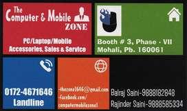 The Computer and Mobile Zone (Laptop Repair / Mobile Repair / CCTV)