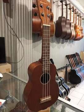 ukulele sopran warna brown natural