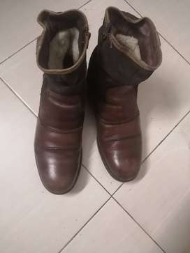 Imported Boots in brown for Sale