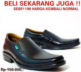 Sepatu pantofel kulit carlit pria bisa cod bayar d tempat