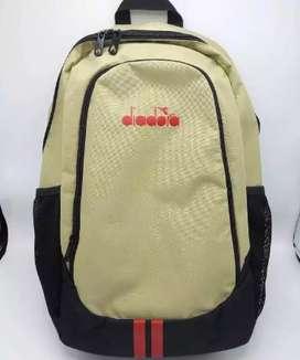 Tas Backpack Sekolah DIADORA Taupe