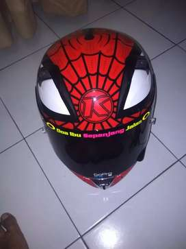 kyt k2rider motif Spiderman