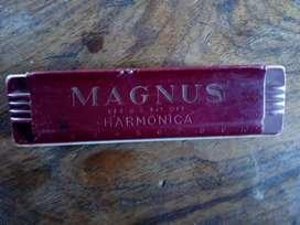 Antique mouthorgan.magnus harmonica