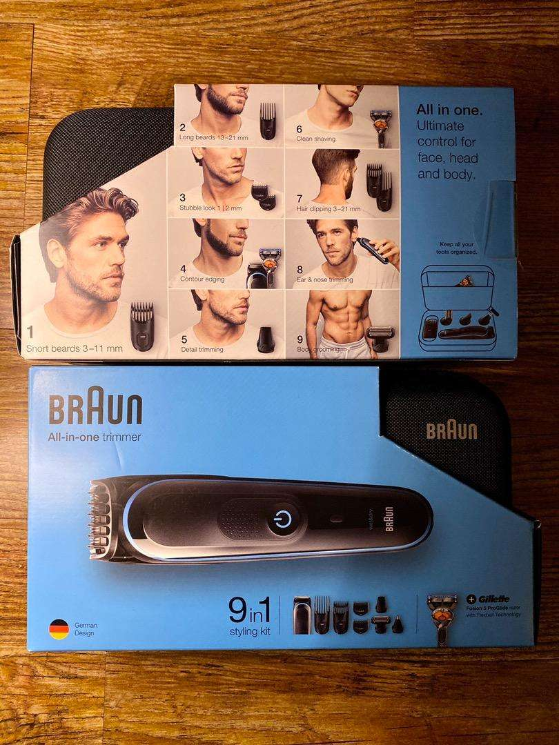 Braun 9 in 1 Styling Kit 0