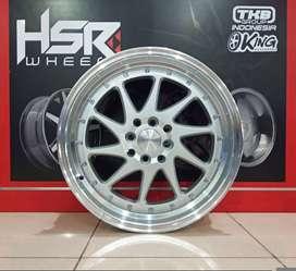 hsr new ozora R17x75/85 h8x100/114.3 silver