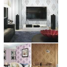 Interior Minimalis Wallpaper Dinding u38383.44