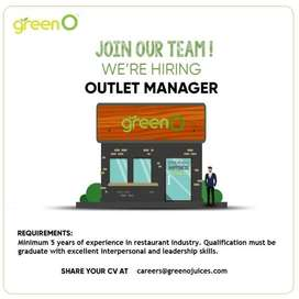 Assistant Outlet Manager (Female)