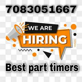 Online work available for you without any target without any interview