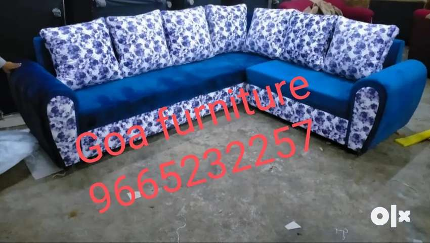 L shape sofa frm factory goa