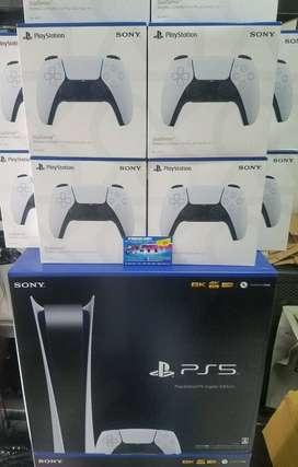 PS5 Disk/Digital Edition Lengkap BNIB new100% Bonus game Fifa