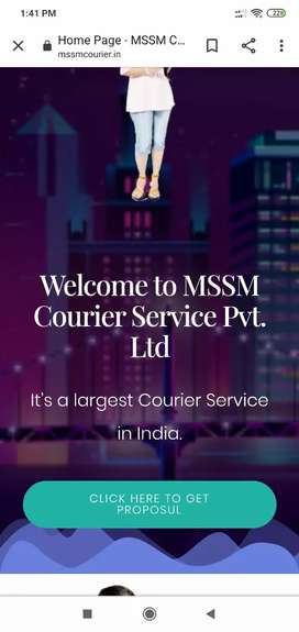 Mssm courier service offer dist franchise and unit franchise