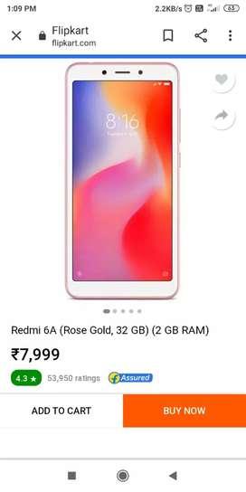 Redmi6A mobile