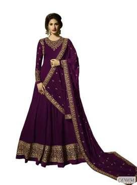 *Catalog Name:* Georgette Embroidered Anarkali Salwar Suits