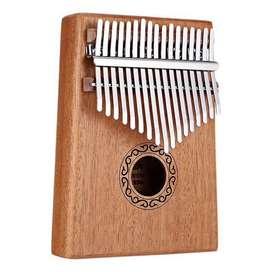 Kalimba alat musik piano 17-keys Toys