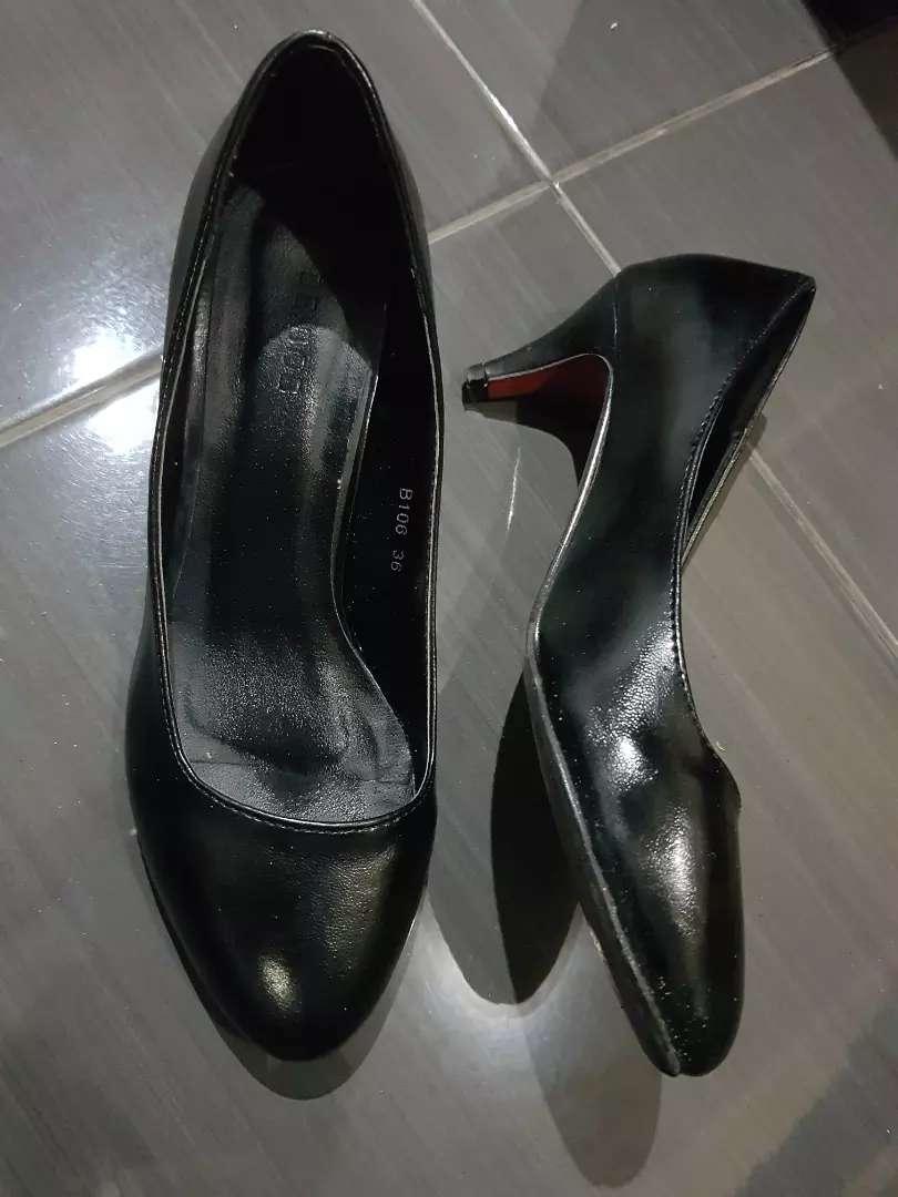 Sepatu Bebob black 36 0