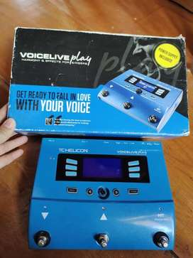 TC Helicon Voice live play - Efek Vokal