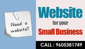 Small Scale Business Website