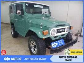 [OLX Autos] Toyota Hardtop MT 4x4 tahun1979 Hijau#Shava Auto Cars